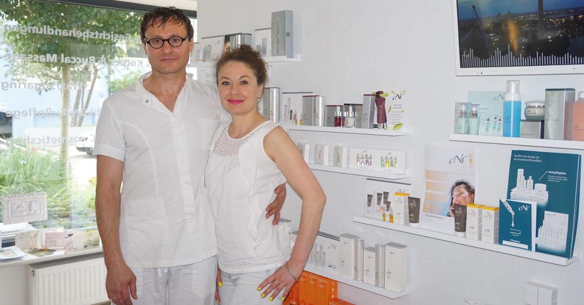 BEAUTY OASE. Camerloherstraße 69, 80689 München. Tel.: 0178-9694028. Kosmetik & Massagen by Mila und Mischa Axentii.